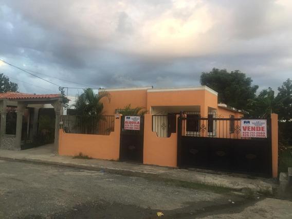Alquilo Casa De 3 Hab/ 160 Mt2 Res. Bnv Manoguayabo
