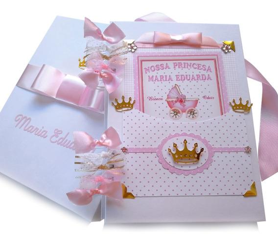 Álbum Livro Do Bebê Meninas Personalizado Caixa 140 Fotos