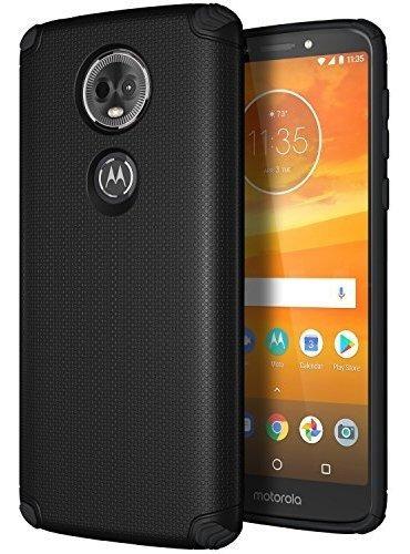 Casevasn Moto E5 Plus Case, Moto E5 Supra Case, [doble Capa]
