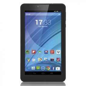Tablet Preto Multilaser - Tela De 7p Memoria De 8gb Dualchip