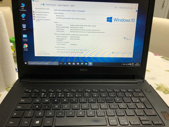 Notebook Dell Latitude E3470 Intel Core I5-6200u Hd 1 Tb