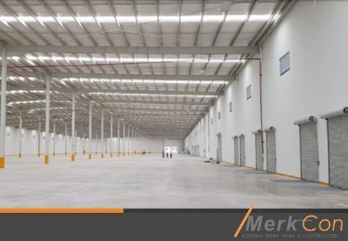Bodega En Renta 2,400 M2 En Fracc. Industrial En Queretaro
