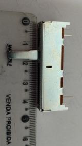 Potenciômetro Deslizante 20 K Mono Metal. Kit Com 10 Peças