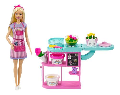 Barbie Careers, Set De Tienda De Flores