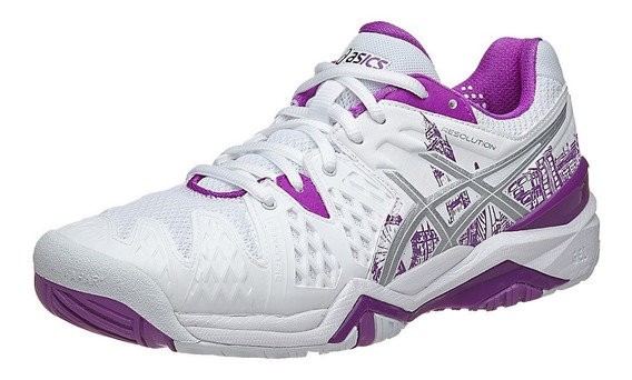 Tenis Asics Gel Resolution Mujer Tennis Solo 22.5 Djokovic