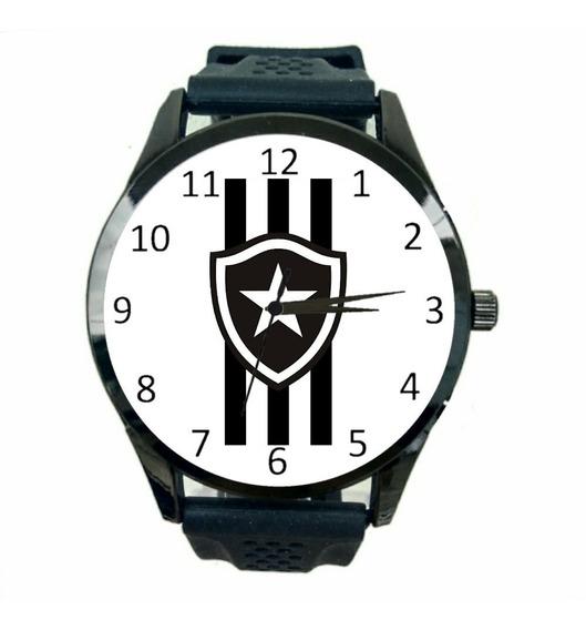 Relógio Botafogo Feminino Novo Barato Futebol Time Jogo T115