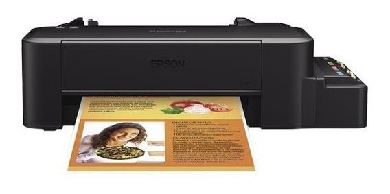 Impressora Epson L120 Com Tinta Sublimática E Perfil De Cor