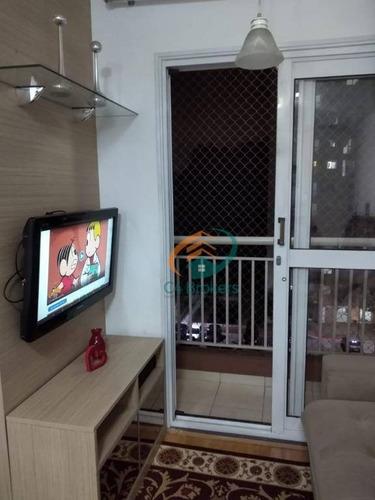 Imagem 1 de 30 de Apartamento Com 2 Dormitórios À Venda, 50 M² Por R$ 230.000,00 - Tremembé - São Paulo/sp - Ap1883