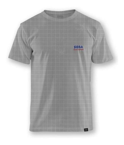 Camiseta Cinza Sega Master System® Logo - P