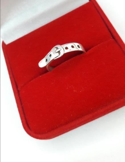 Anel Feminino Prata 950 Modelo Cinto