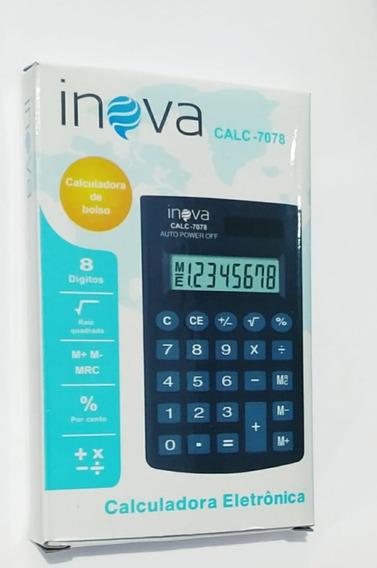 5 Calculadora Eletrônica Inova Calc-7078 Atacado