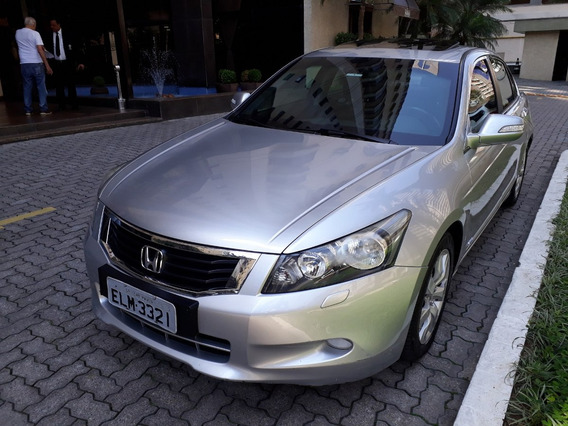 Honda Accord 3.5 V6 Ex 4p 2009 Blindado