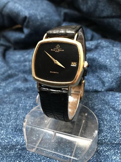 Relógio Nivel Omega Ouro 18k Maciço Baume Mercier Masculino Grandão - 13 Anos No Mercado Livre A
