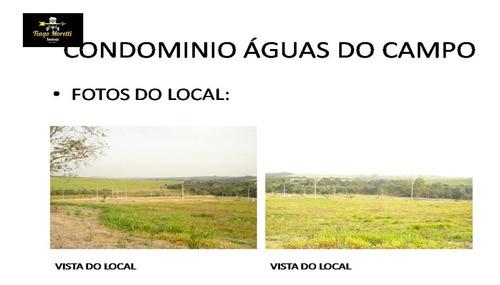 Lote A Venda No Condomínio Águas Do Campo - Te00130 - 34653702