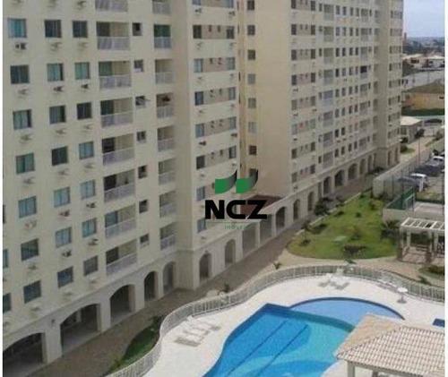 Apartamento Com 3 Dormitórios À Venda, 83 M² Por R$ 380.000,00 - Buraquinho - Lauro De Freitas/ba - Ap2959