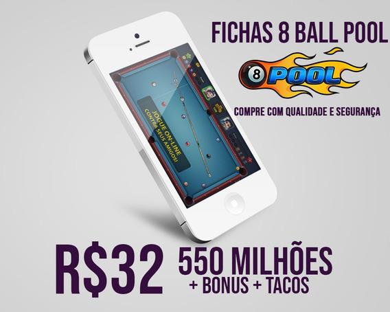 8 Ball Pool Fichas 8 Ball Pool 550 Milhões