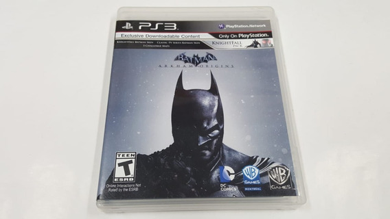 Jogo Batman Arkham Origins - Ps3 - Original