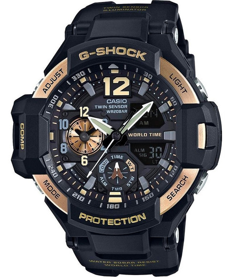 Reloj Casio G-shock Master Of Gravity Original Time Square