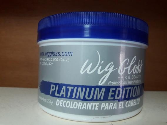 Decolorante Wig Gloss Platinum 250gr