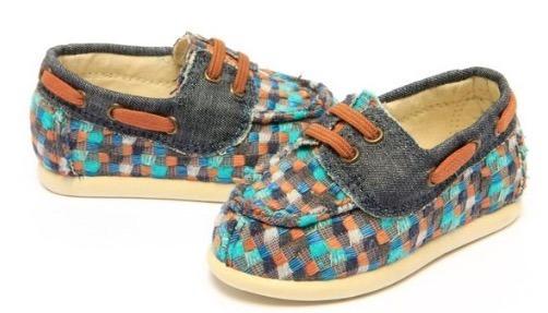 Sapato Mocassim Infantil Perky