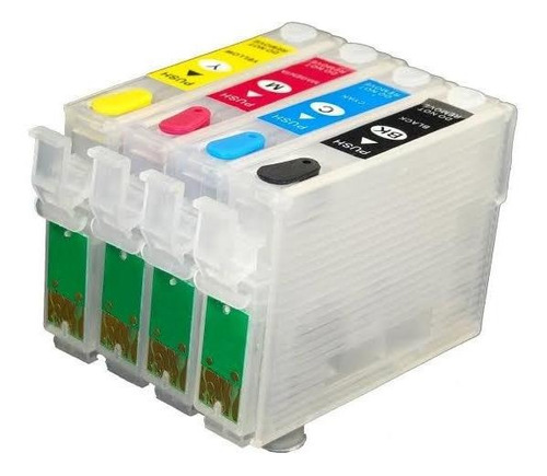 Cartucho Recarregável Para Epson T23 T24 Tx105 Tx115 Tx1500