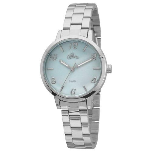Relógio Allora Aquarela Prata - Al2036cp/3a Com Bolsa