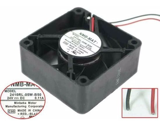 Fan Cooler Nmb-mat 2410rl-05w-b50 24v Dc 0.11a Tis Xp