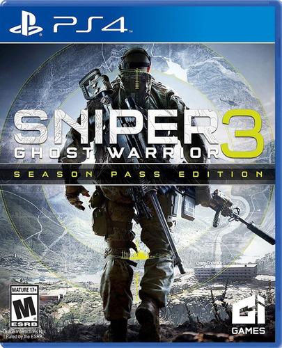 Imagen 1 de 9 de Sniper Ghost Warrior 3 Seasson Pass Edition Ps4 Fisico