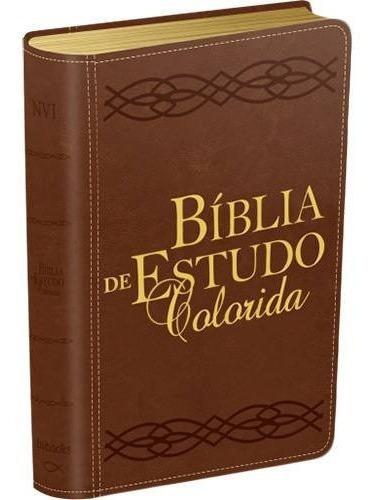 Bíblia De Estudo Colorida Bv Books