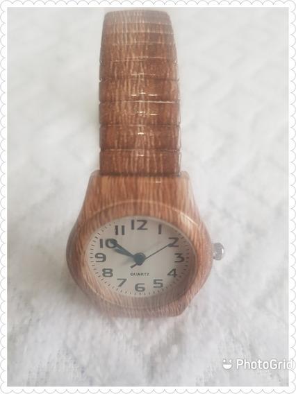 Relógio Com Pulseira De Elástico
