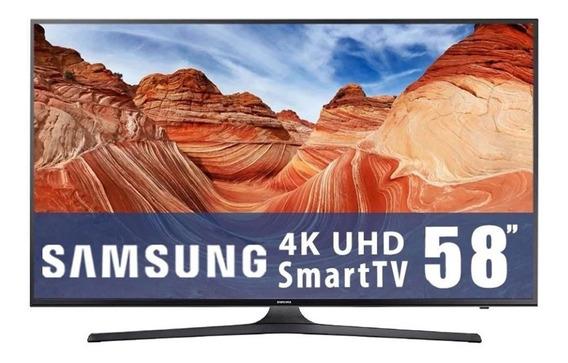 Smart Tv 58 PuLG Led 4k 3840 X 2160 120hz Full Web Samsung