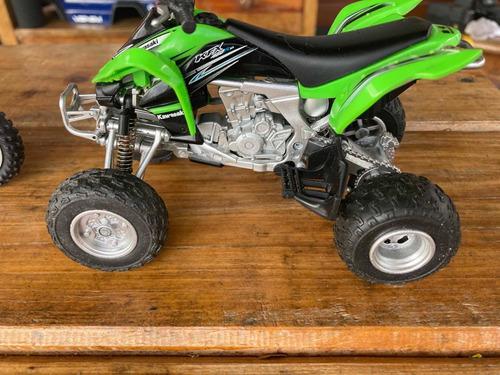 Moto Cuatro Ruedas Rc 1:12 Kawasaki Para Axial Hpi Traxxas