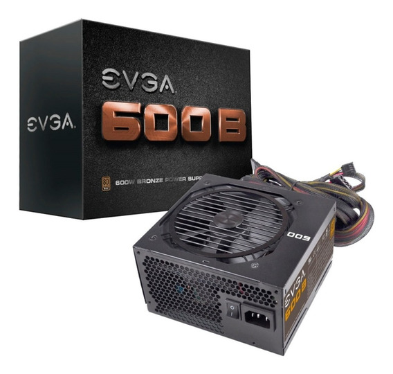 Fonte 600w 80 Plus Bronze - Evga - Atx12v - Eps12v