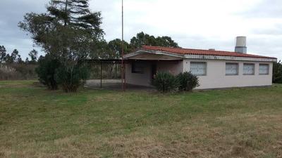 Casa De Tejas Con 3 Htas De Terreno Frente A Ruta 74