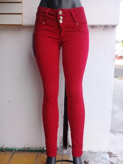 Pantalones Strech De Colores