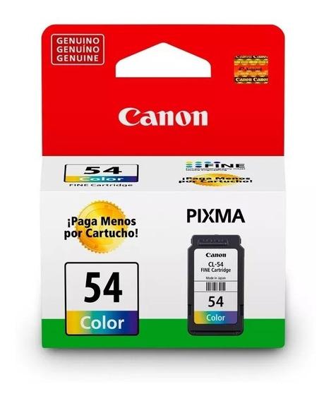 Cartucho Original Canon Cl-54 Colorido 6,2ml E481 E401 E461