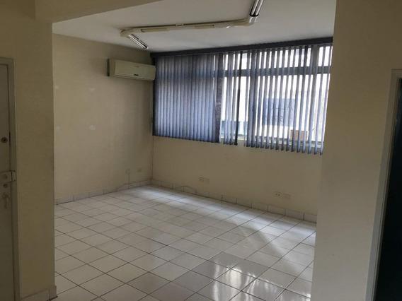 Sala Em Centro, Santos/sp De 55m² Para Locação R$ 1.000,00/mes - Sa608769