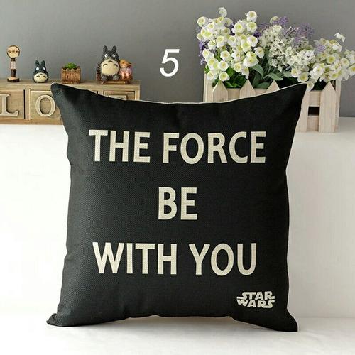 Imagen 1 de 2 de Fundas De Cojin Star Wars