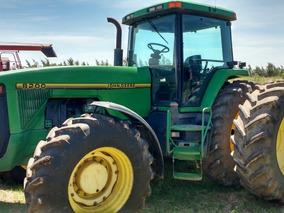 Tractor John Deere 8200 Tracción Doble Y Rodado Dual
