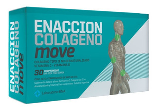 Enaccion Colageno Move Tipo Ii No Desnaturalizado X30