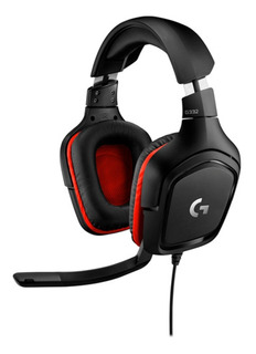 Auricular Logitech G332 Gaming Pc Ps4 Headset Microfono