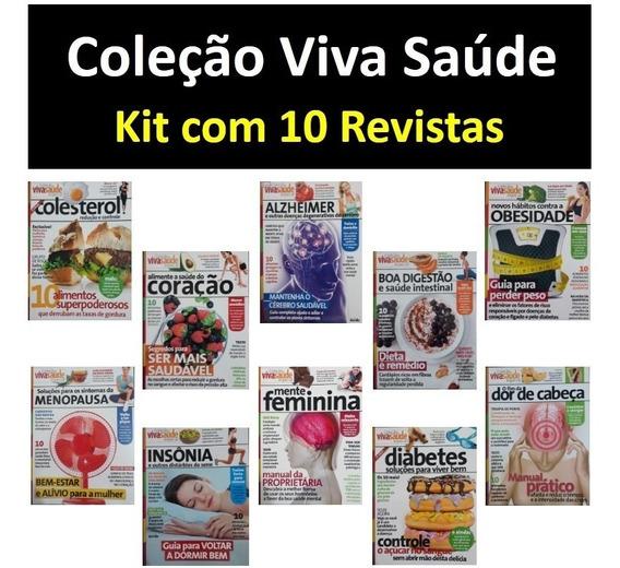 Revistas Viva Saúde Diabetes Alzheimer Obesidade Colesterol