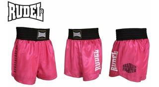 Short Muay Thai Cetim Serie Ii - Rudel