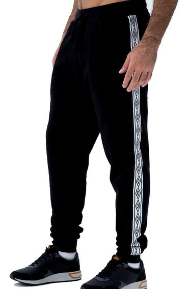 Umbro Pantalon Galon Negro