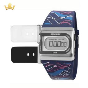 Relógio Mormaii Troca Pulseiras Fzpr/t8p Com Nf