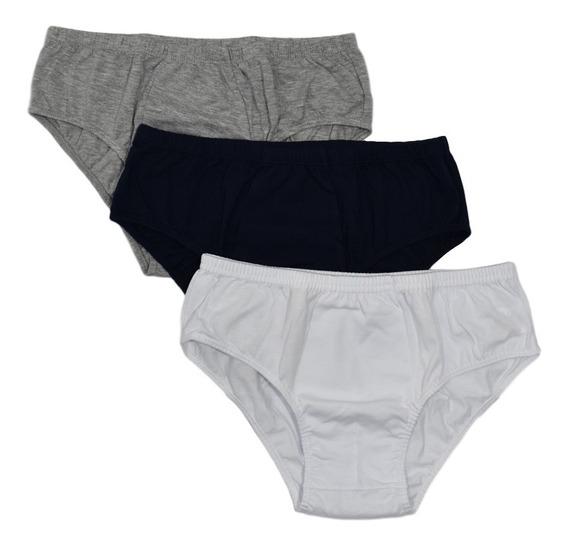 Pantaloncillo Clásico Para Niño X3