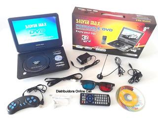 Televisor Con Tdt Dvd Portátil 9 Pulgadas Hd Juegos Usb Fm