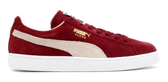 Puma Zapatillas Hombre - Suede Classic Red