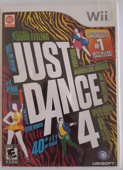 Just Dance 4 Wii Mídia Física