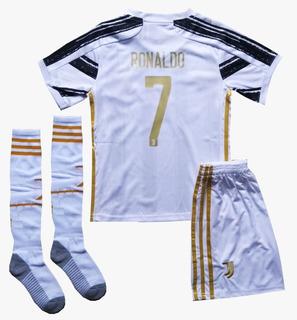 Camisa Time Europeu Infantil Futebol Camisa + Calção + Meião
